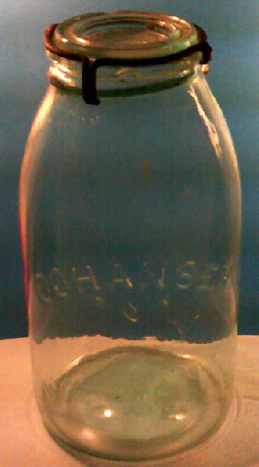 Cohansey fruit jar